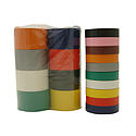 JVCC E-Tape-Pack Electrical Tape Rainbow Packs