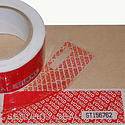 JVCC TEV-SN Tamper Evident Serial Number Carton Sealing Tape