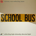 Oralite V99 Microprismatic Conspicuity School Bus Signs