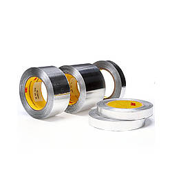 3M Scotch 425 Aluminum Foil Tape [2.8 mil Flame Resistant / Linerless]