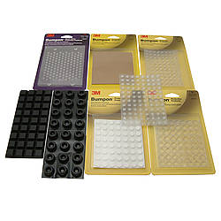 3M Scotch SJ Series Bumpon Self-Adhesive Bumpers