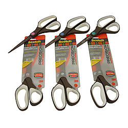 3M Scotch 1468TUNS Precision Ultra Edge Titanium Non-Stick Scissors