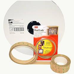 3M Scotch SJ4570 Dual Lock Low Profile Reclosable Fastener [clear]
