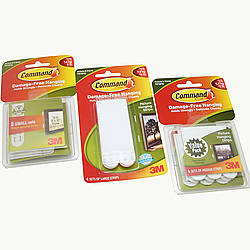 3M Scotch Command Picture Hanging Strips [Removable]