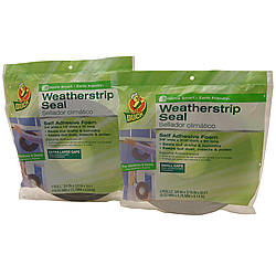 Duck Brand Foam Weatherstrip Seal [PVC Foam]