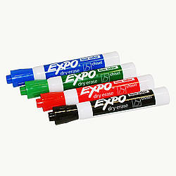 Expo Chisel Tip Low Odor Ink Dry Erase Marker