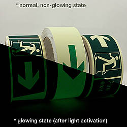 JVCC GLW-S Glow in the Dark Signaling Tape