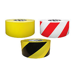 Presco Solids & Stripes Barricade Tape [2 mil thick]