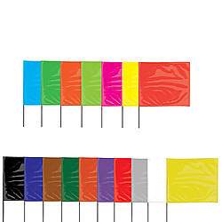 Presco Steel Wire Staff Marking Flags
