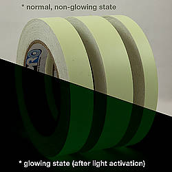 Pro Tapes Pro-Glow Glow in the Dark Tape [10 Hour]
