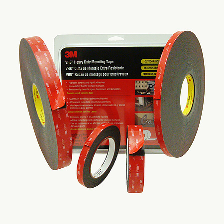 3M Scotch 5952 VHB Tape  [45 mil / heavy duty mounting]
