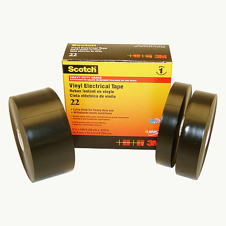 3M Scotch 22 Heavy-Duty Grade Extra Thick Electrical Tape