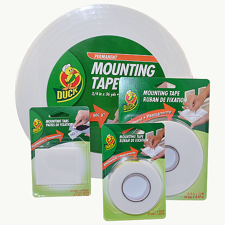 Duck Brand Permanent Mounting Double-Sided Foam Tape