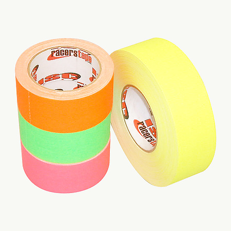 ISC Neon Dull-Finish Racer's Tape [Gaffers Tape]