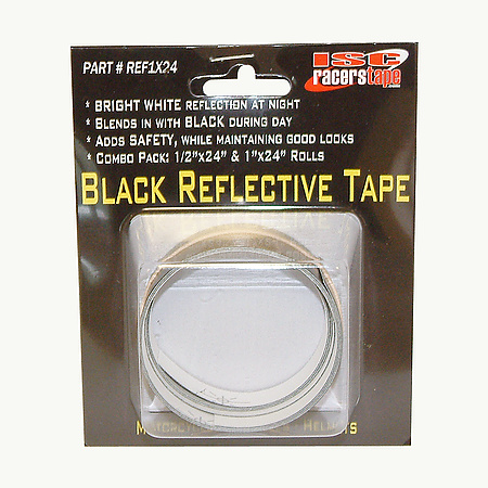 ISC REF1X24 Black Reflective Tape