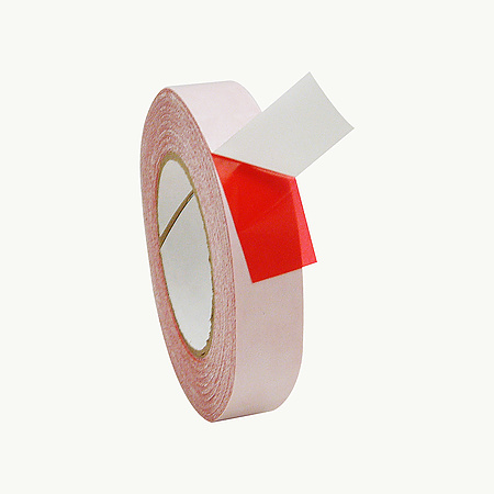 JVCC DC-PETF35-R Double Coated Red Film Tape [Acrylic Adhesive]