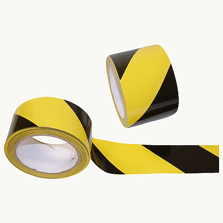 JVCC HZ-8LP Laminated Premium Hazard Warning Tape [9 mils thick]