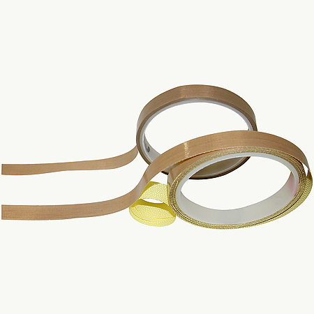 JVCC PTFE-GC-5 Teflon Glass Cloth Tape [4.6 mil]