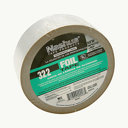 Nashua 322 General Purpose Foil Tape - 2 mil Linered [Discontinued]