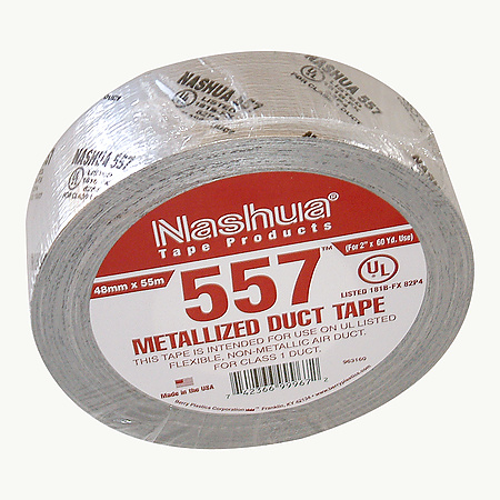 Nashua 557 Premium Grade Flex Duct Tape [UL181B-FX listed]