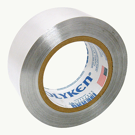 Polyken 345 Premium Self-Wound Aluminum Foil Tape [UL / FAR certified]