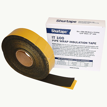 Shurtape IT-100 Foam Pipe Wrap Insulation Tape [Condensation Inhibiting]
