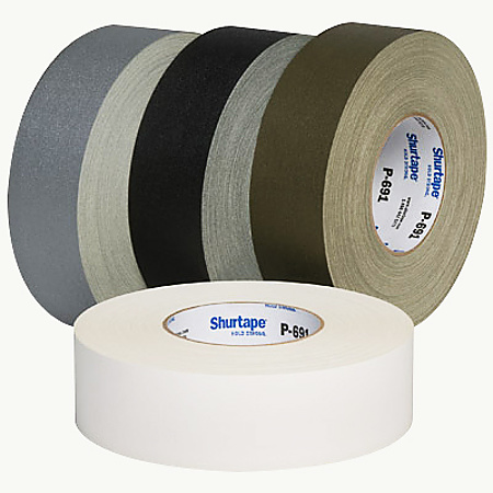 Shurtape P-691 Premium Nuclear Grade Vinyl-Coated Cloth Tape