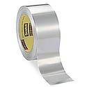 3M 433 High Temperature Aluminum Foil Tape [Flame Resistant / Linerless]