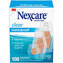 3M 432 Nexcare Clear Waterproof Bandages