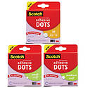 3M Scotch 010 Permanent Adhesive Dots [Double-Sided]