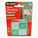 3M Scotch 111/DC Foam Mounting Squares [Double-Sided Permanent]