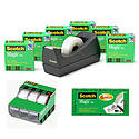 3M Scotch Magic Tape Matte-Finish, Invisible Film Tape