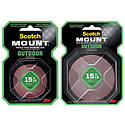 3M Outdoor Scotch-Mount Double-Sided Mounting Tape