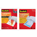 3M Scotch TP5854 Thermal Laminating Pouches, Letter Size