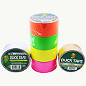 Duck Brand Color Duck Duct Tape [Neon & Metallic Colors]