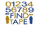 FindTape MLDS Marking Letters, Digits & Shapes
