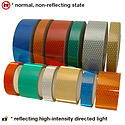 Oralite (Reflexite) V92-DB-COLORS Microprismatic Conspicuity Tape