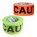 Presco HI-VIZ Printed Barricade Tape [3 mil thick PVC]