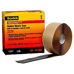 3M 2228 Rubber Mastic Tape [Single-Sided]