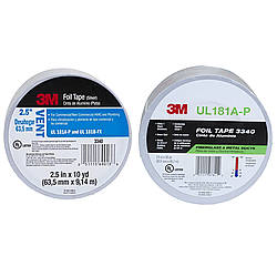 3M 3340 Foil Tape [UL 181 A & B listed / Linered]