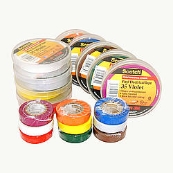 3M 35 Scotch Color Coding Vinyl Electrical Tape
