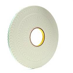 3M Scotch 4032 Urethane Foam Tape [Double-Sided, Open Cell, 1/32 inch thick]