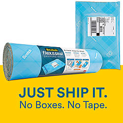 3M Scotch Flex & Seal Shipping Roll