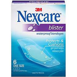 3M BWB Nexcare Blister Waterproof Bandages