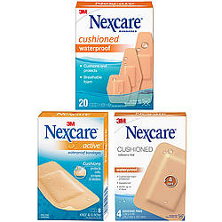 3M CB Nexcare Cushioned Waterproof Bandages & Pads