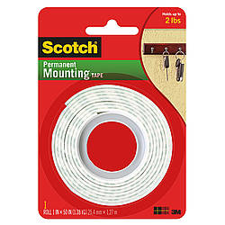 3M Scotch 114 Permanent Mounting Tape (Indoor)