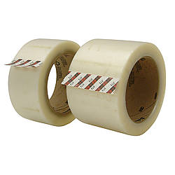 3M 371 Scotch Box Sealing Tape [Industrial Grade]