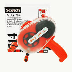 3M Scotch 714 ATG Adhesive Applicator [use with 1/4 inch ATG rolls]