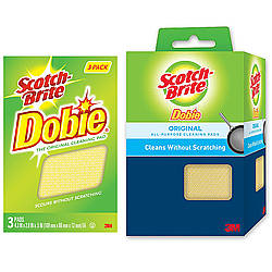 3M SB-DCP Scotch-Brite Dobie Cleaning Pads