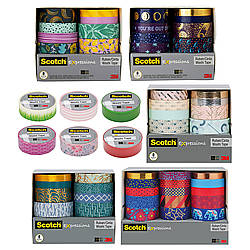 3M Expressions Scotch Washi Crafting Tape